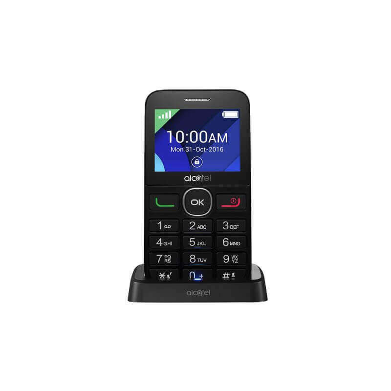 alcatel 2008g t l phone portable senior mobile grosses touches. Black Bedroom Furniture Sets. Home Design Ideas